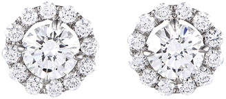 Harry Winston Heritage  18K & Platinum 1.98 Ct. Tw. Diamond Earrings