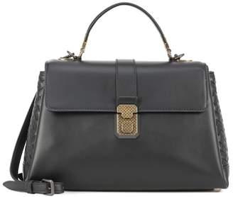 Bottega Veneta Medium Piazza leather shoulder bag