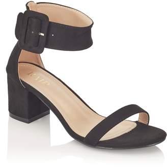 Next Womens Raid Wide Fit Block Heel Sandals