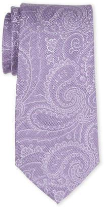 MICHAEL Michael Kors Purple Paisley Silk Tie