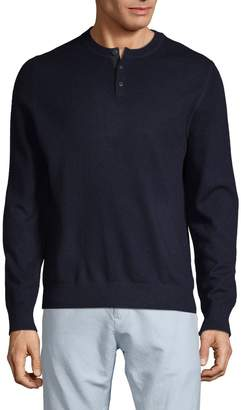 Vince Classic Wool & Cashmere Henley