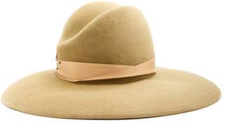 Yestadt Millinery Ramona Ribbon-Trimmed Felt Hat