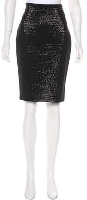 Amanda Wakeley Wool Knee-Length Skirt