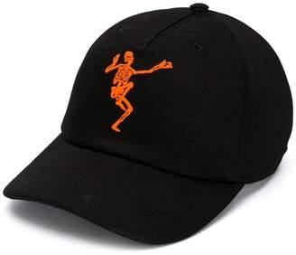 Alexander McQueen skeleton baseball cap