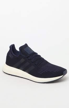 adidas Swift Run Blue & Black Shoes