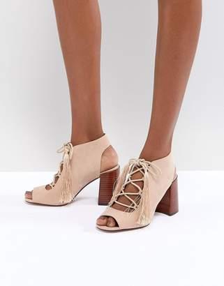 9e9c6e941910 Asos Design TONIC Lace Up Heeled Sandals