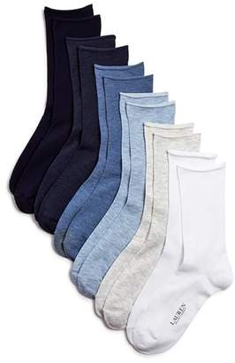 Ralph Lauren Roll Top Trouser Socks, Set of 6