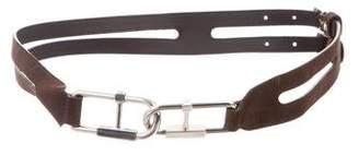 Balenciaga Suede Waist Belt