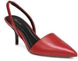 Diane von Furstenberg Mortelle Red Slingback Pumps