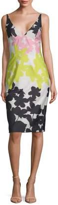 Milly Liz Sleeveless Print Dress