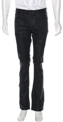 Acne Studios Roc Waxed Slim Jeans