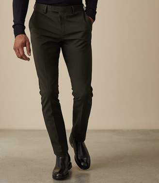 Reiss WESTBURY SLIM FIT CHINOS Emerald