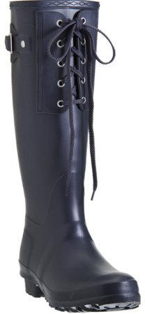 Barneys New York CO-OP Bob Lace-Up Rain Boot