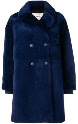 Bally double breasted midi coat