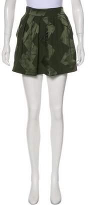 Balenciaga Silk Mini Skirt