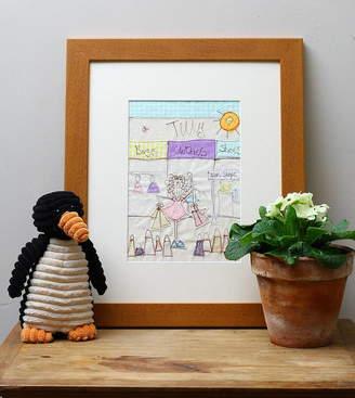 katy kirkham designs Personalised Shopping Embroidered Artwork