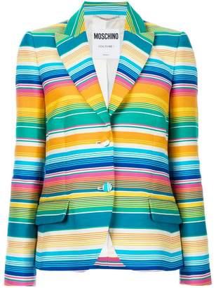 Moschino striped formal blazer
