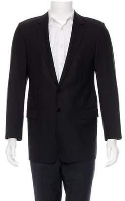 Balenciaga Notch-Label Single -Button Blazer