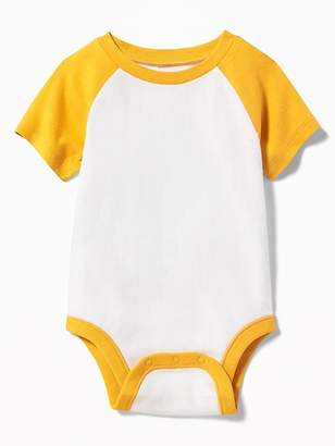 Old Navy Color-Block Raglan Bodysuit for Baby