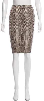 Lanvin Knee-Length Pencil Skirt