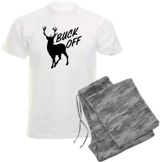 Hunter Royaion Men'sight Pajamas Buck Off Deer Hunting - ,arge