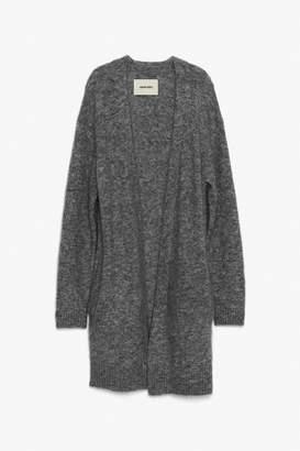 Genuine People Classic Oversized Wool Cardigan