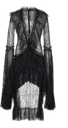 Couture Amen Tiered Lace Dress