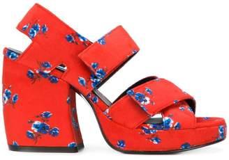 Kenzo printed chunky sandals