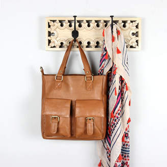 The Leather Store Lindy Leather Pocket Handbag