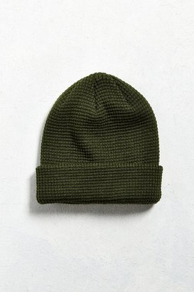 Urban Outfitters UO Waffle Beanie $15 thestylecure.com
