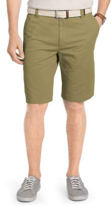 Izod Big & Tall Saltwater Classic-Fit Flex Waist Flat-Front Shorts