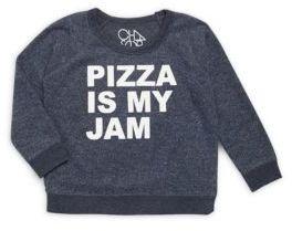 Little Boy's & Boy's Pizza Sweatshirt $37.40 thestylecure.com