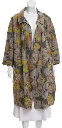 Dries Van Noten Wool Blend Printed Jacket