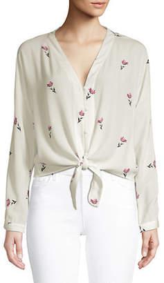 Rails Sloane Floral-Print Shirt