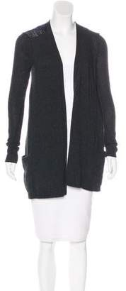 Theory Wool Colorblock Cardigan