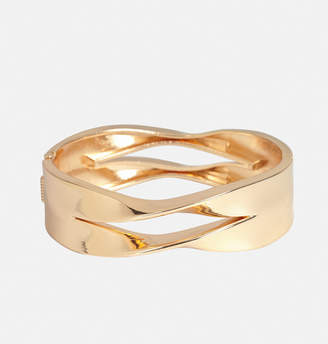 Avenue Double Twisted Hinge Cuff