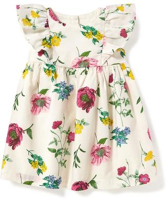 Floral Ruffle-Trim Dress for Baby $22.94 thestylecure.com