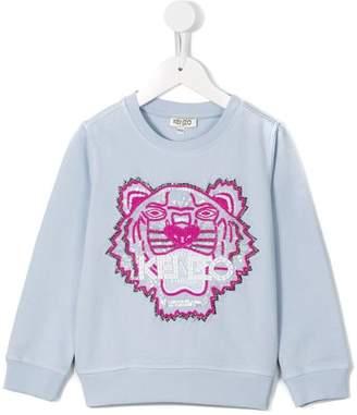 Kenzo beaded logo sweatshirt