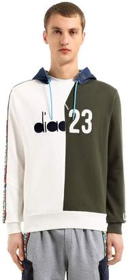 Lc23 Color Block Twill Sweatshirt