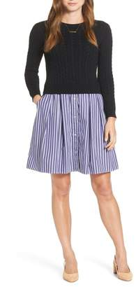 1901 Sweater Poplin Dress