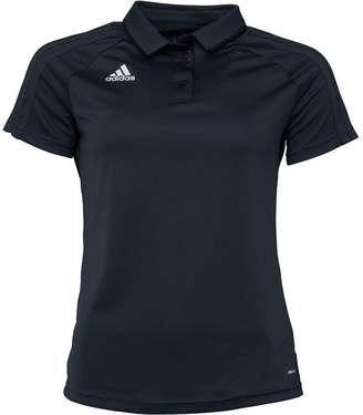 adidas Womens Tiro 17 Football Polo Dark Grey/Black/White
