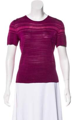 Christian Lacroix Patterned Knit Top
