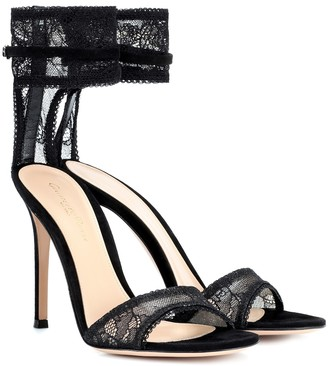 Gianvito Rossi Lace sandals