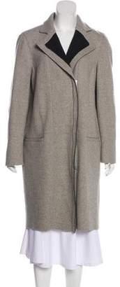 Helmut Lang Wool-Blend Knee-Length Coat