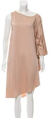 Zero Maria Cornejo Scoop-Neck Midi Dress