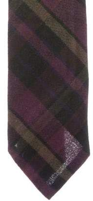 Ralph Lauren Purple Label Plaid Tie