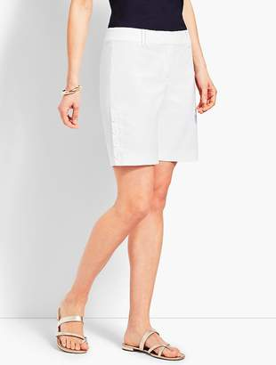 "Talbots 7"" Button-Hem Short"