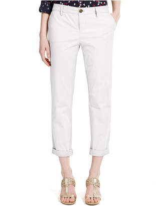 Tommy Hilfiger Cuffed Chino Straight-Leg Pants