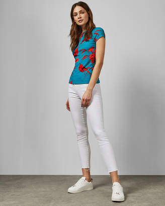 Ted Baker DILLIA Fantasia fitted T-shirt