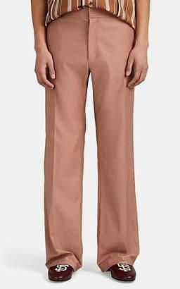 Martin Grant Men's Cotton Twill Straight Trousers - Rose